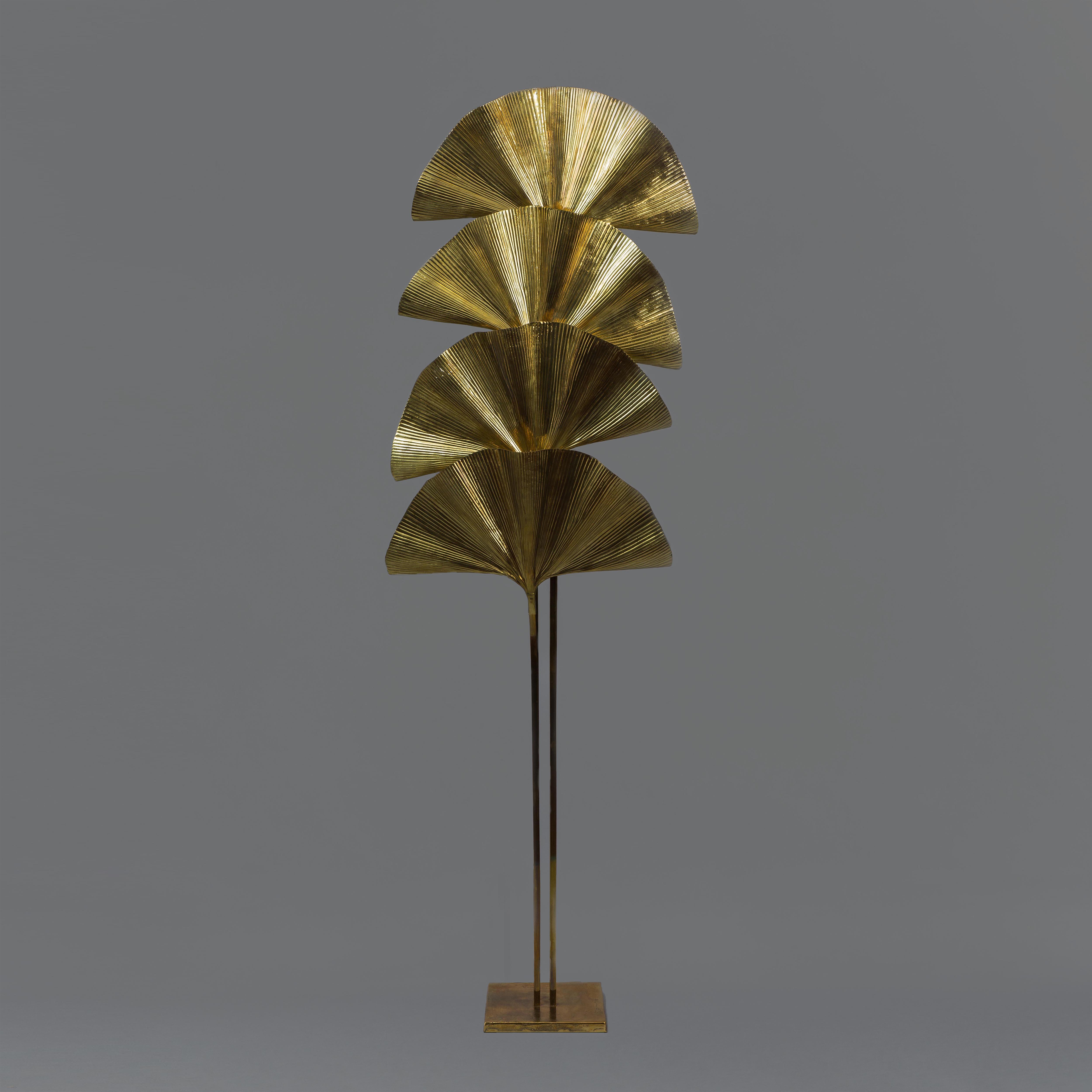 4-leaf Ginkgo Floor Lamp by Carlo Giorgi for Bottega Gadda | soyun k.