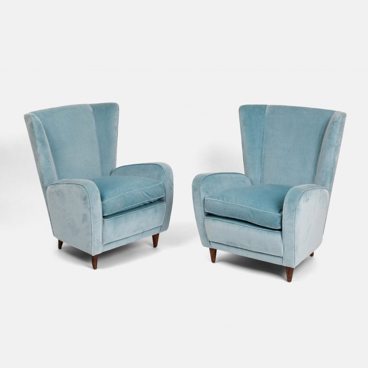 Pair of Lounge Chairs by Paolo Buffa   soyun k.