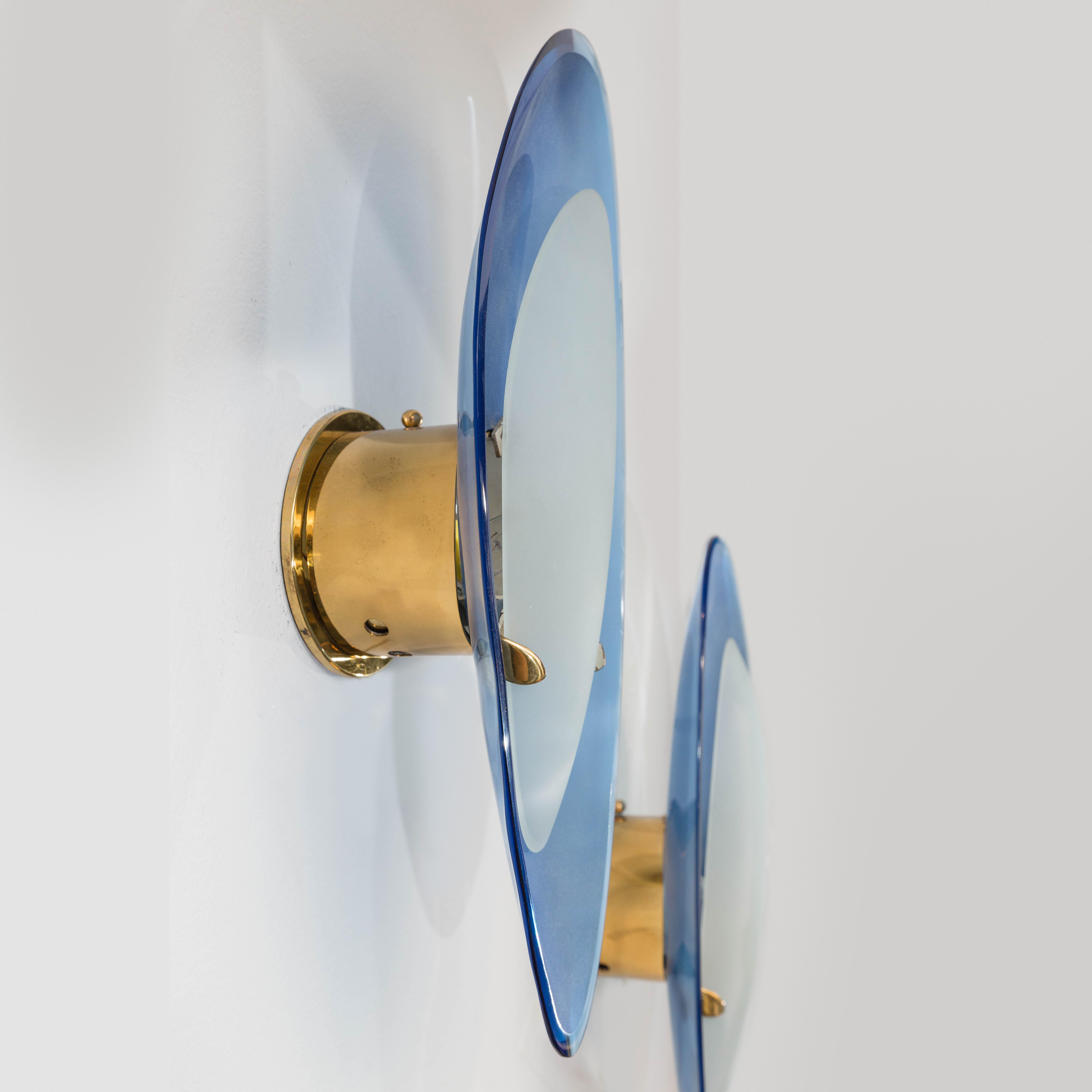 Pair of Rare Sconces by Max Ingrand for Fontana Arte | soyun k.