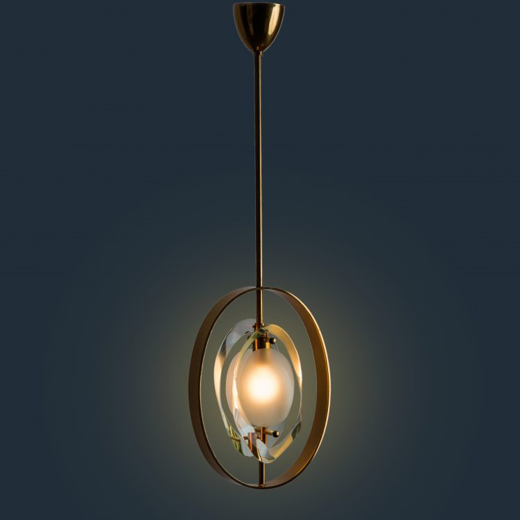 Pendant Lamp Model 1933 by Max Ingrand for Fontana Arte | soyun k.