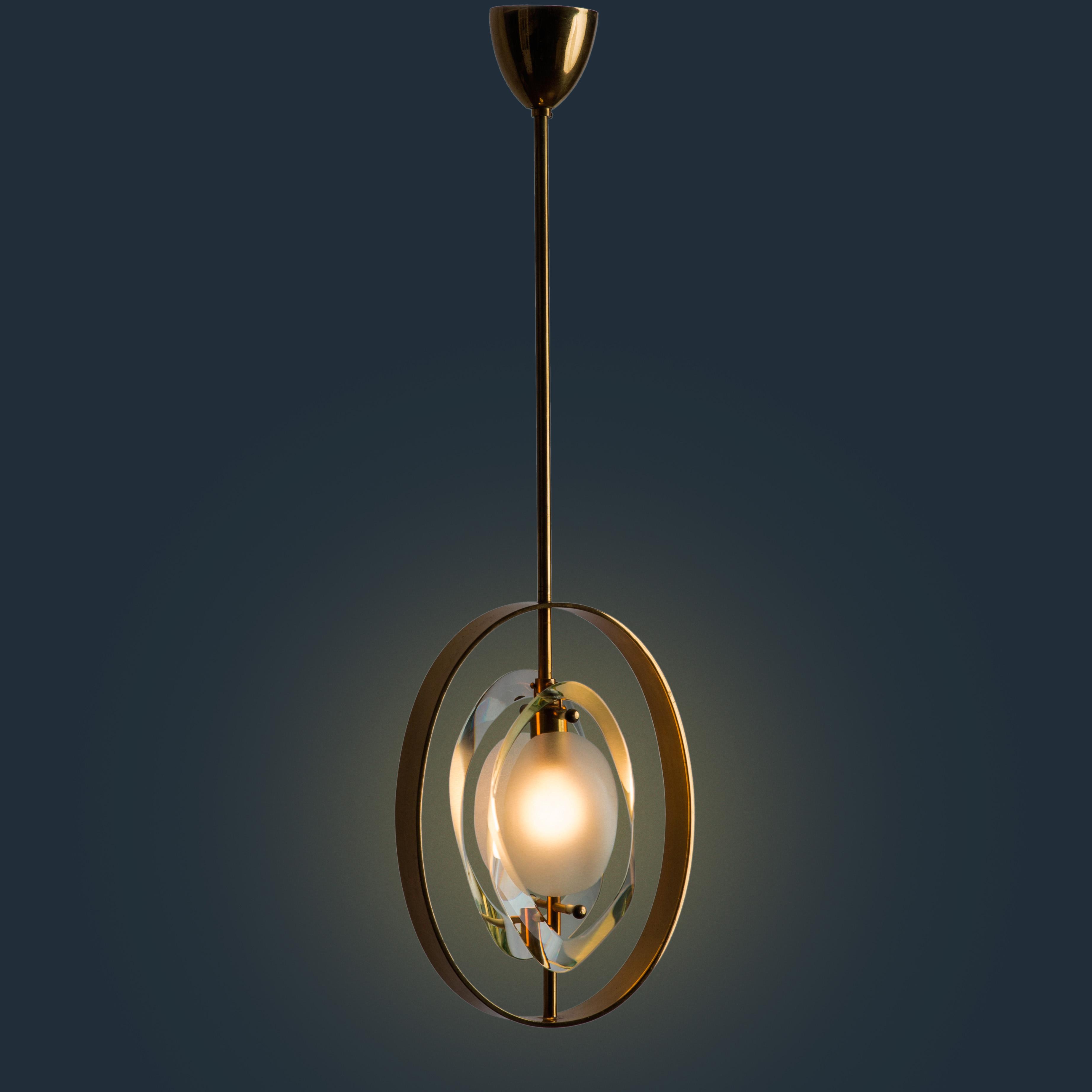 Pendant Lamp Model 1933 by Max Ingrand for Fontana Arte | soyun k.