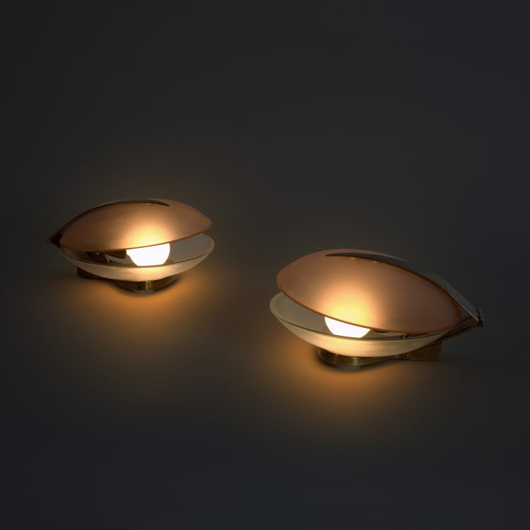 Pair of Table Lamps by Max Ingrand for Fontana Arte   soyun k.