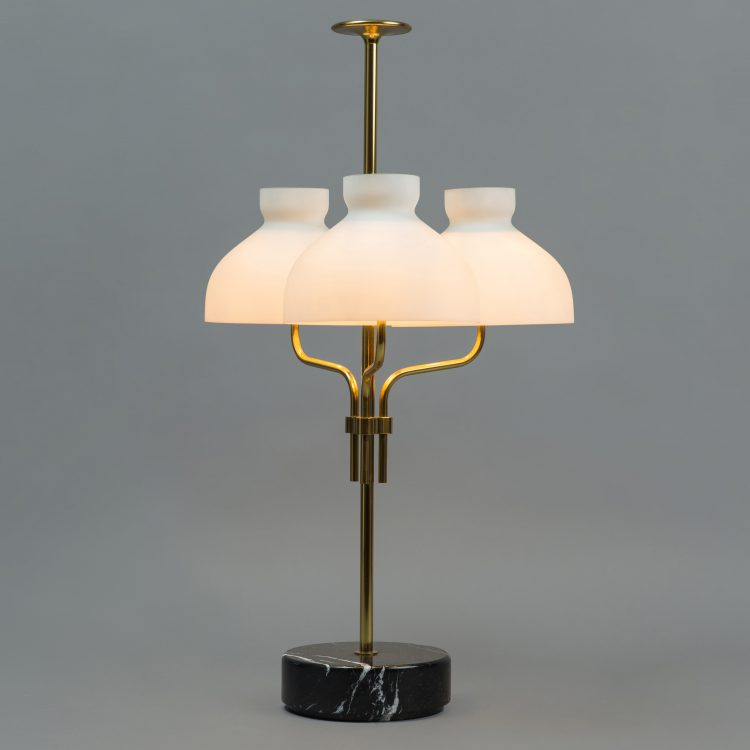 'Arenzano tre fiamme' Table Lamp by Ignazio Gardella for Azucena | soyun k.