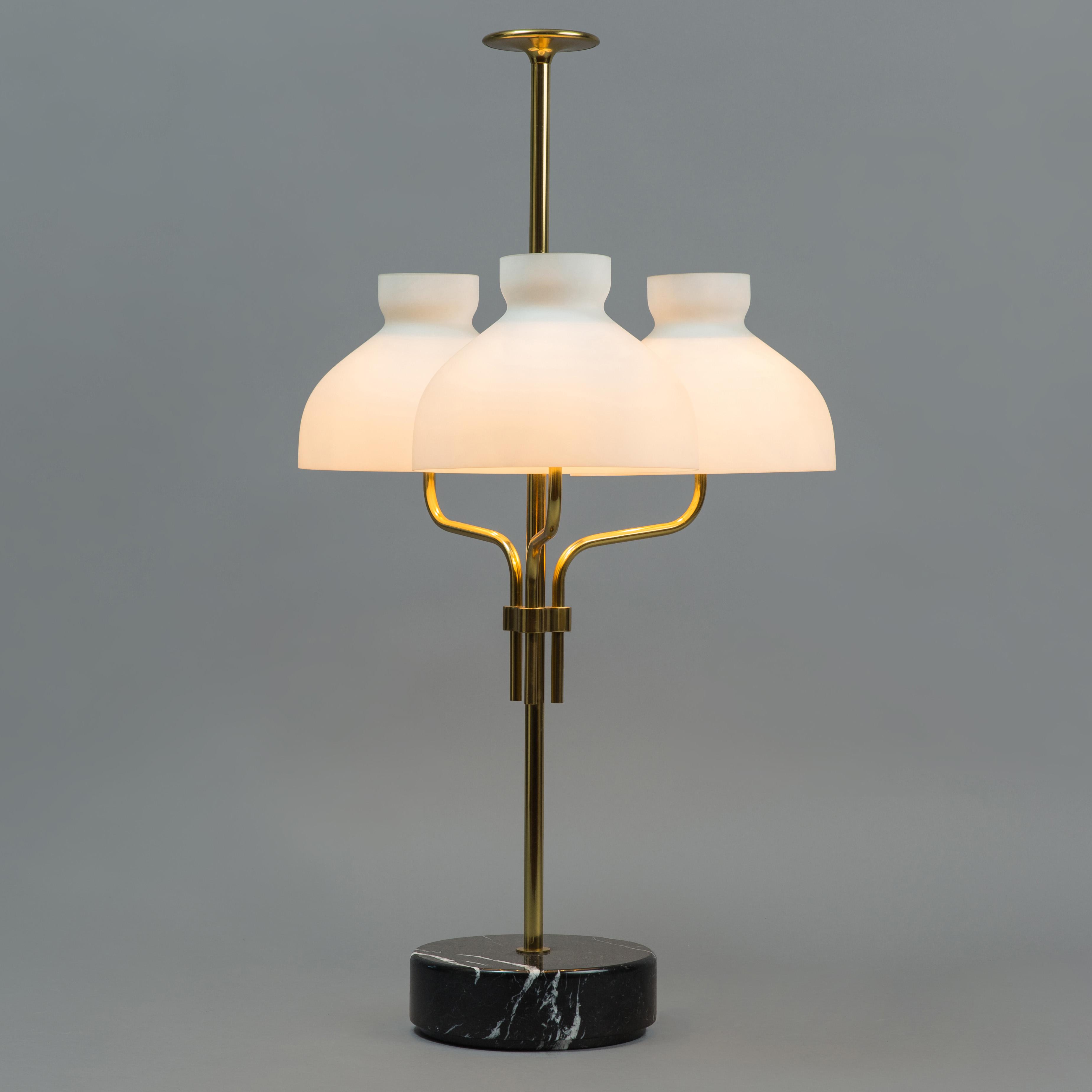 'Arenzano tre fiamme' Table Lamp by Ignazio Gardella for Azucena | soyun k.