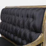 Rare Silver Leaf Settee by Maison Jansen, stamped | soyun k.
