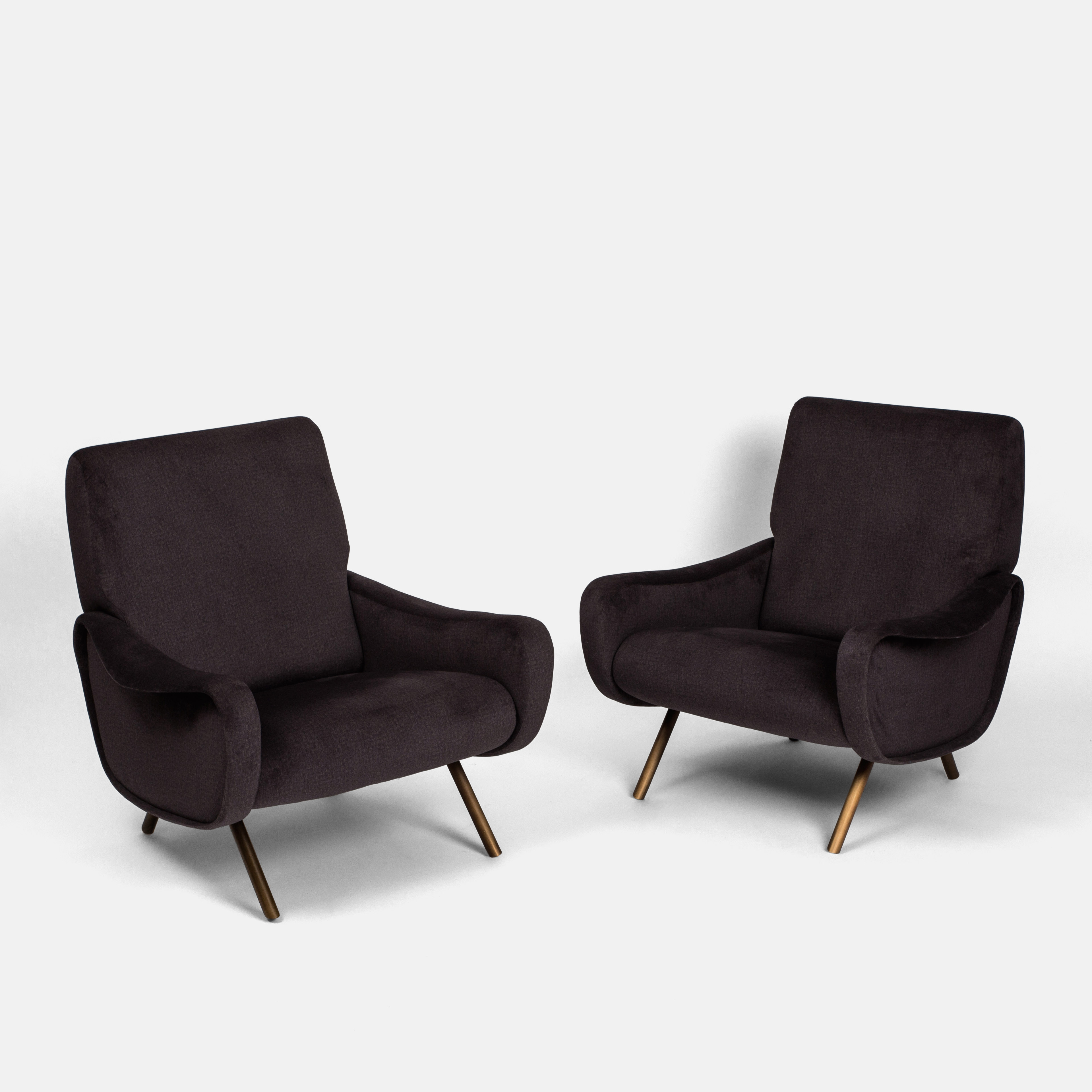 Pair of 'Lady' Chairs by Marco Zanuso for Arflex | soyun k.