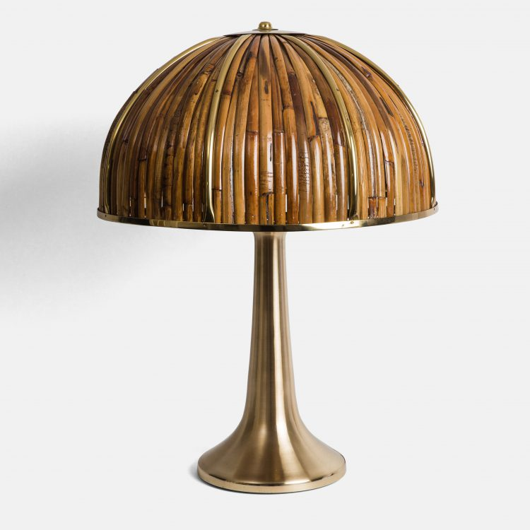 'Fungo' Table Lamp from Rising Sun series by Gabriella Crespi | soyun k.