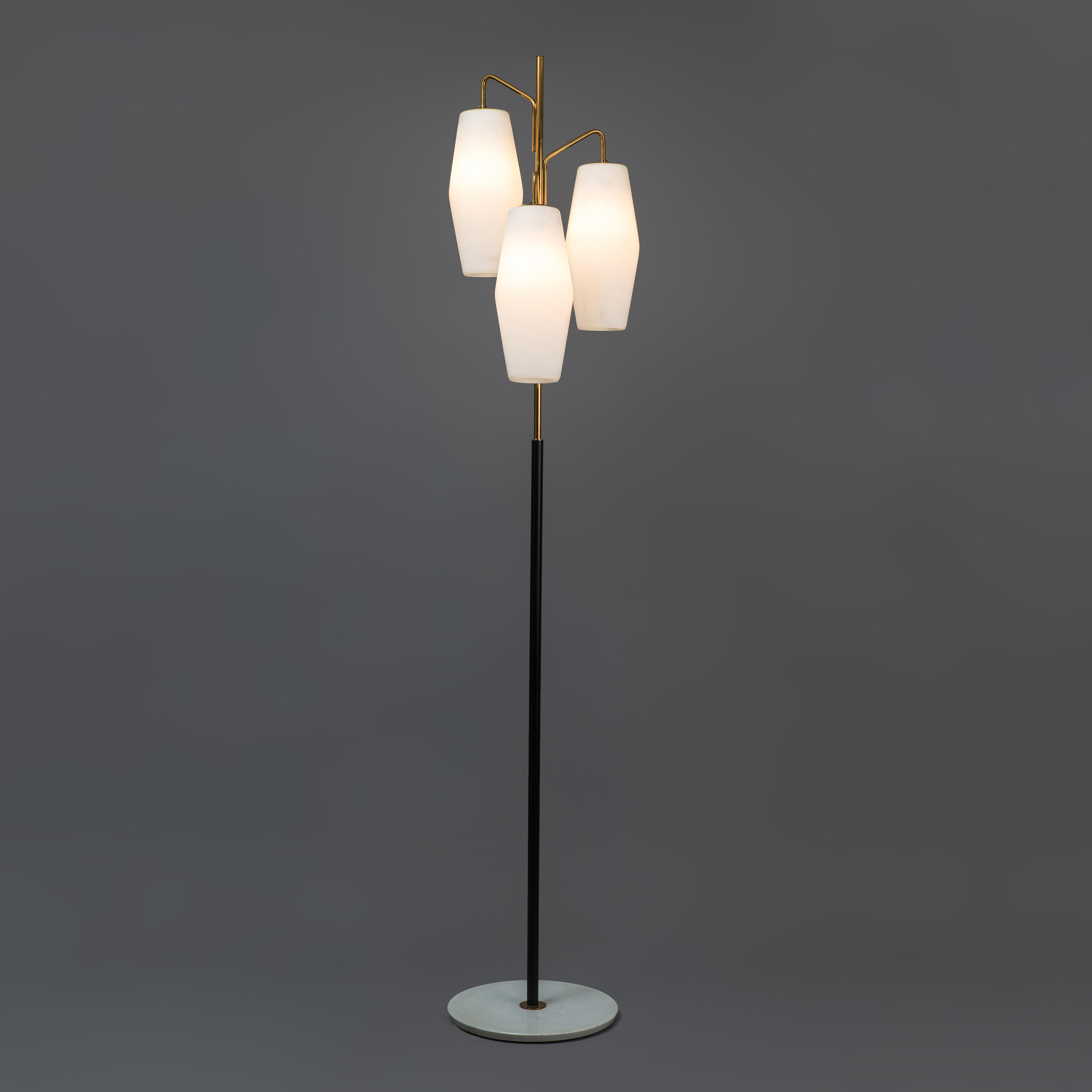 Floor Lamp, model 4052 by Stilnovo, stamped | soyun k.