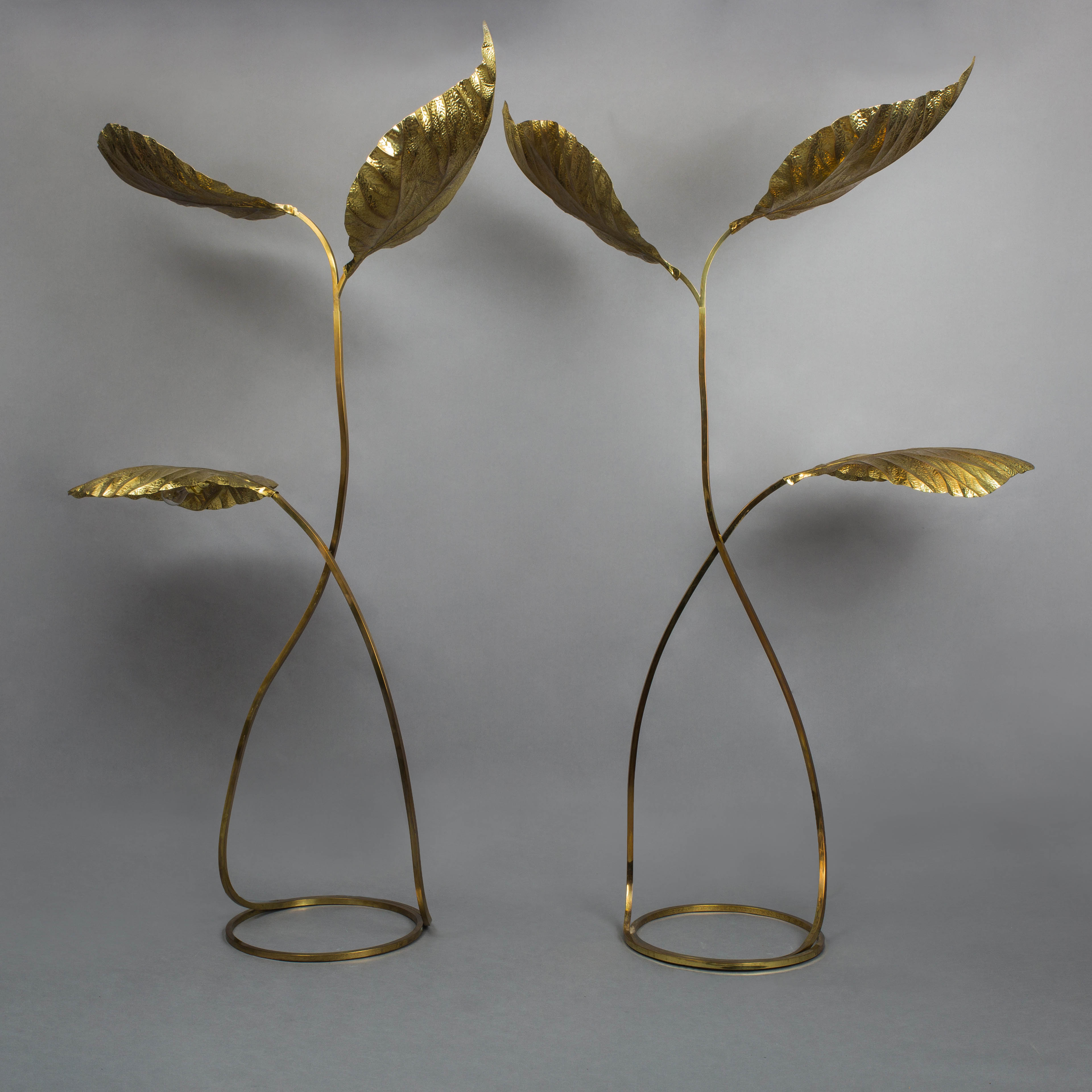 Pair of Floor Lamps by Carlo Giorgi for Bottega Gadda | soyun k.