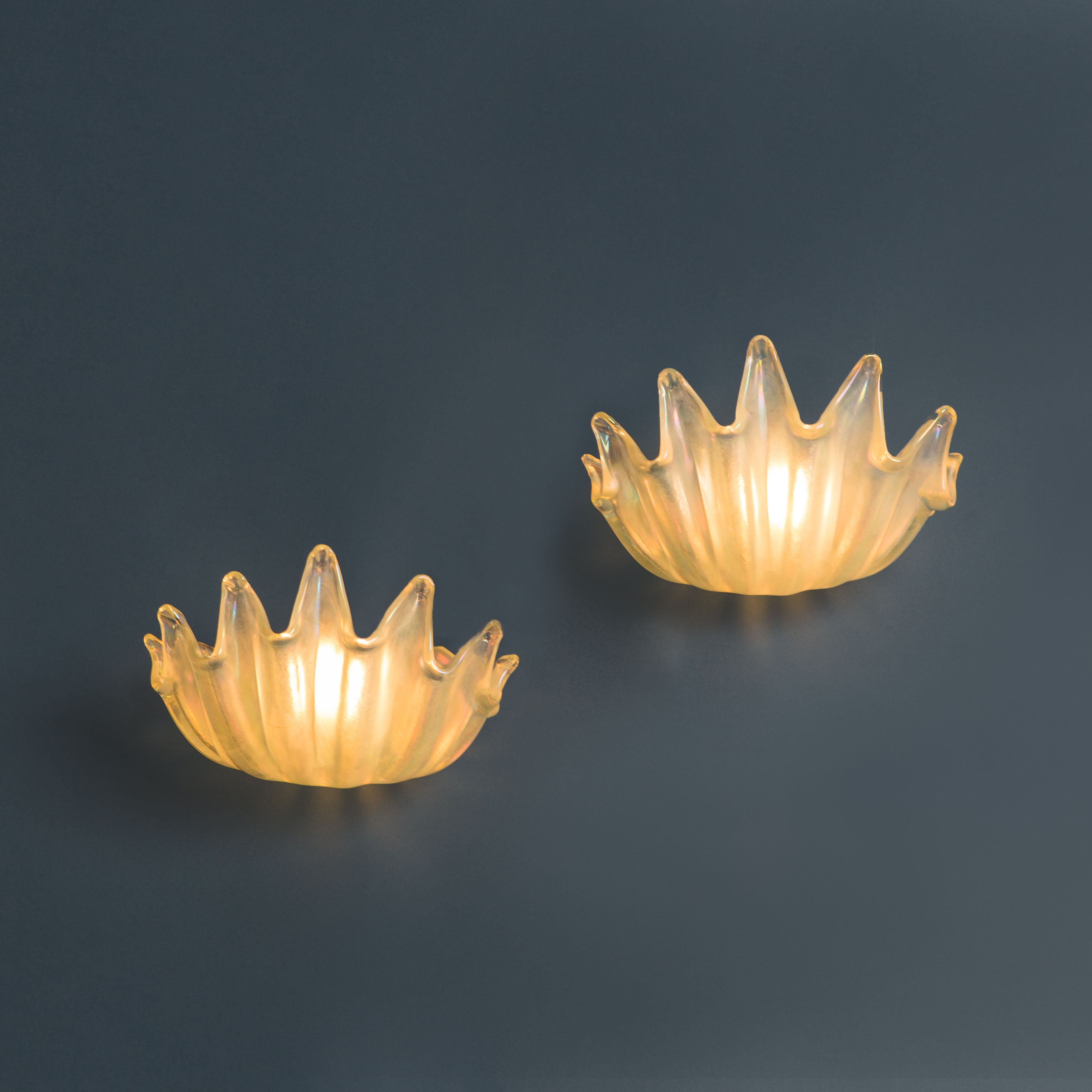 Pair of Rare Sconces by Ercole Barovier for Barovier & Toso | soyun k.
