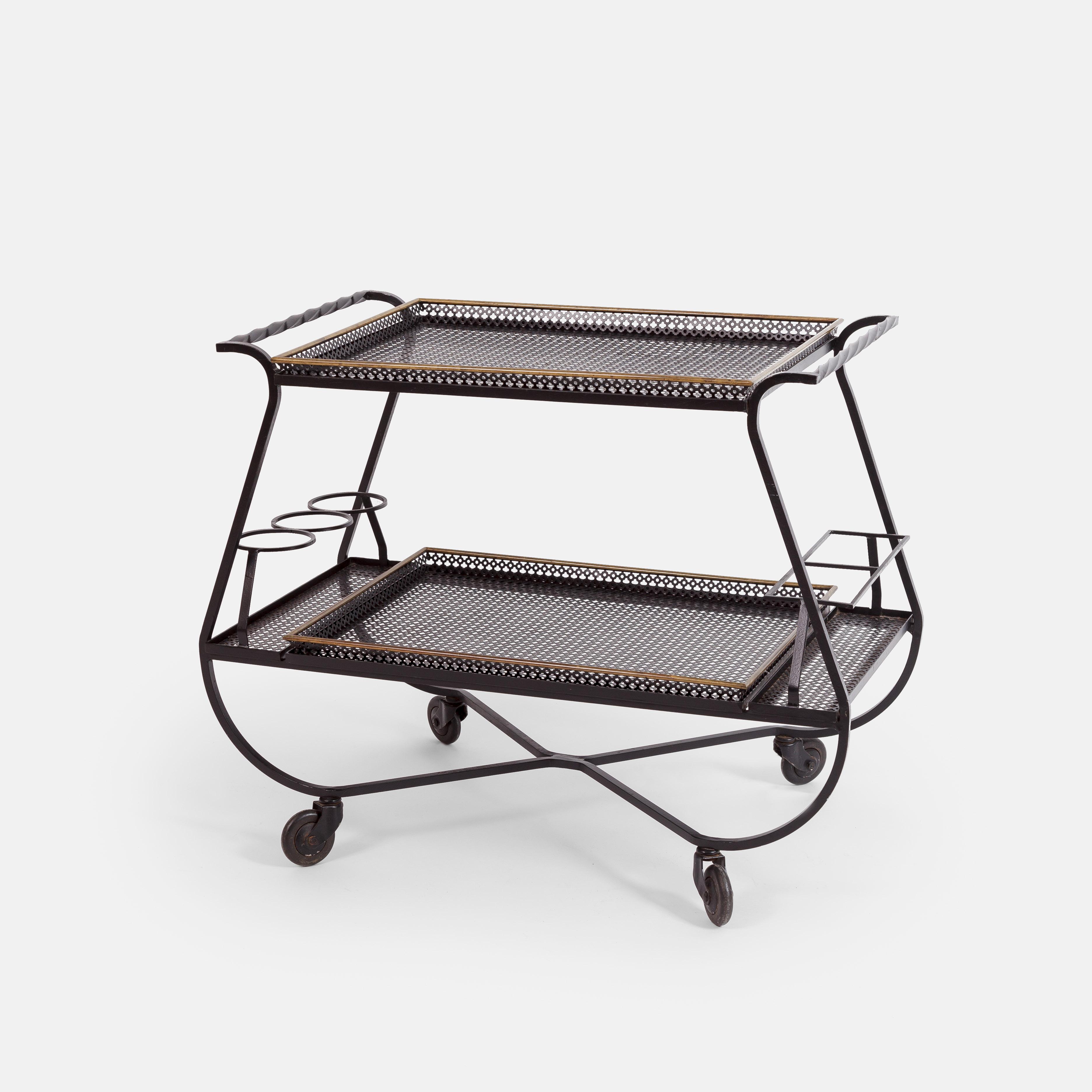 Bar Cart or Serving Tray by Mathieu Matégot | soyun k.