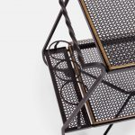Bar Cart or Serving Tray by Mathieu Matégot | soyun k.