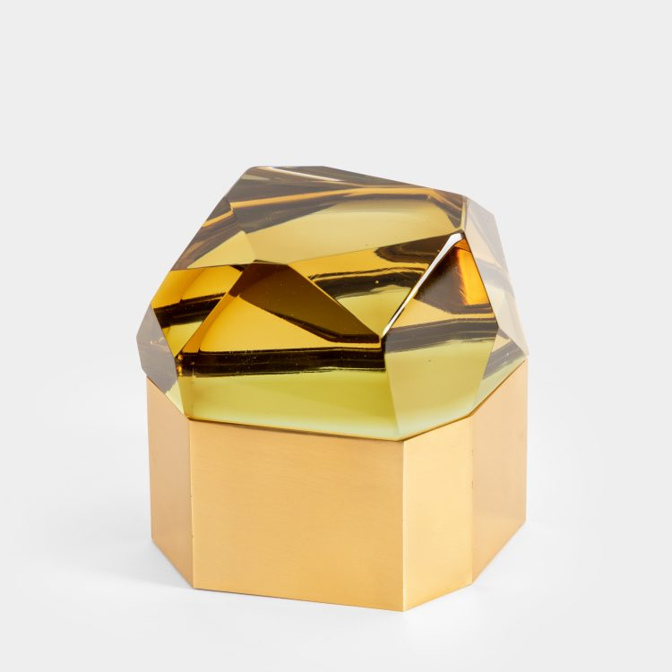 'Diamante Murano' Glass Box by Roberto Giulio Rida | soyun k.