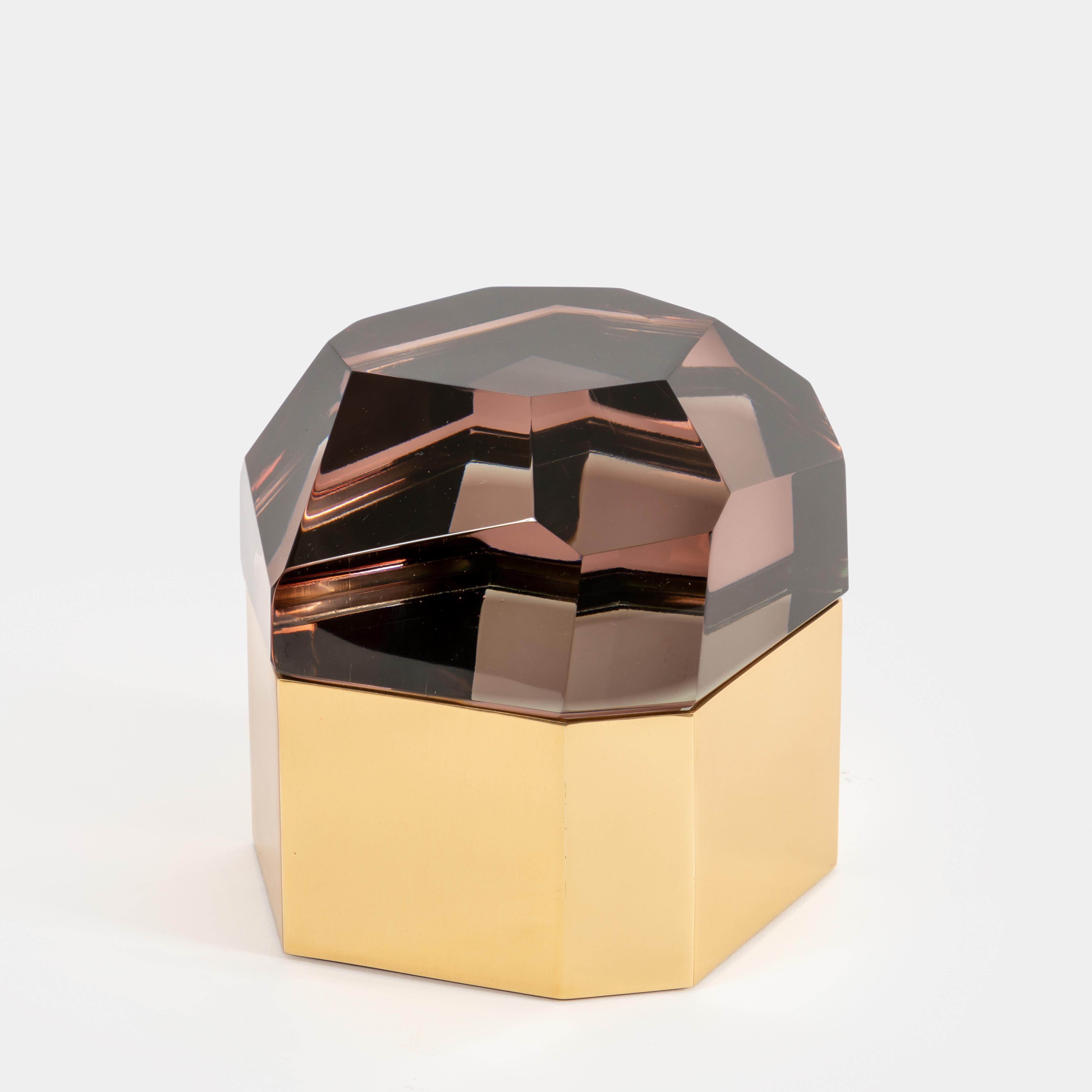 'Diamante Murano' Glass Box by Roberto Giulio Rida   soyun k.