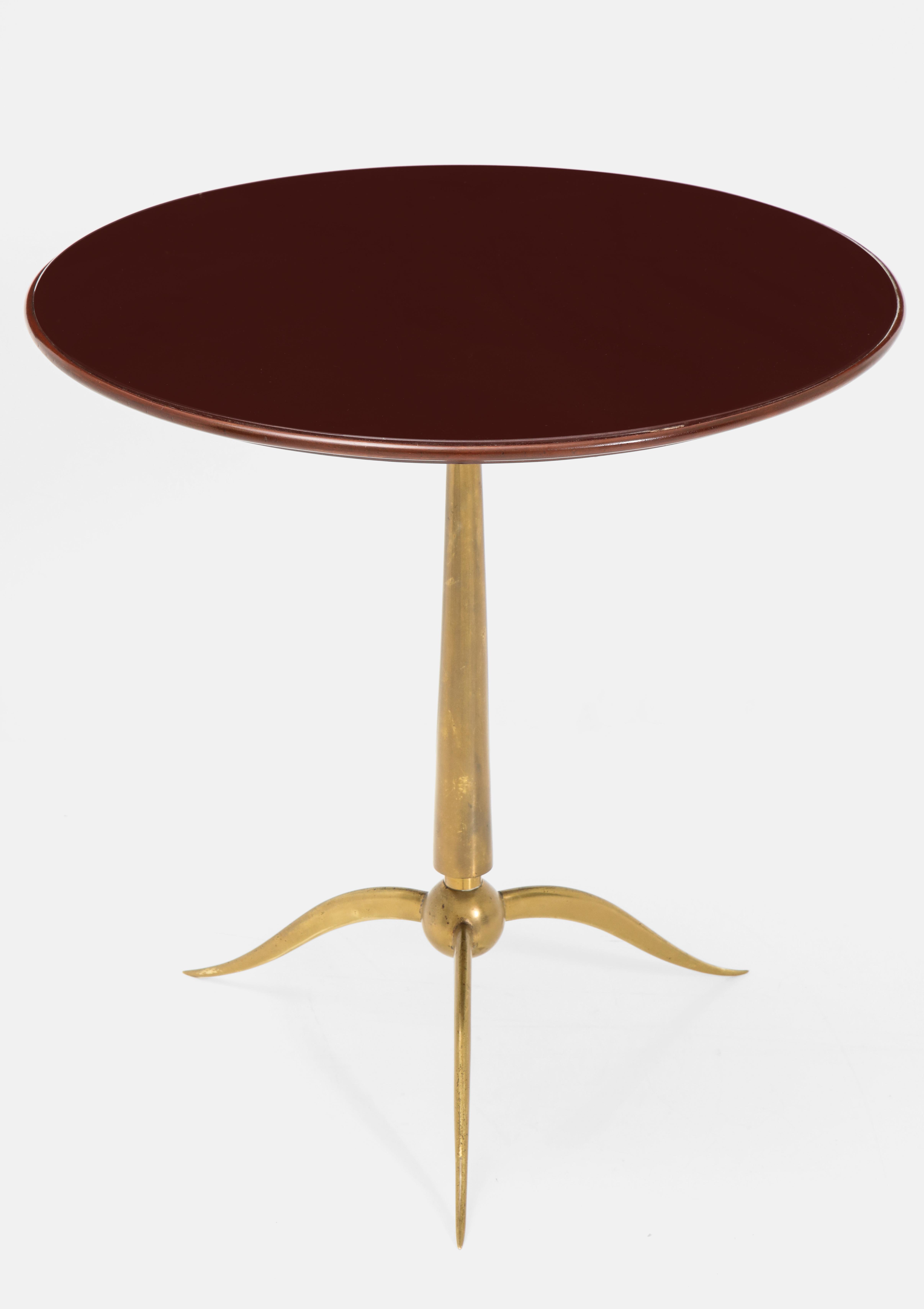 Rare Side Table by Osvaldo Borsani for Arredamenti Borsani | soyun k.
