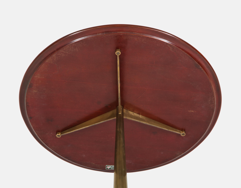 Rare Side Table by Osvaldo Borsani for Arredamenti Borsani   soyun k.