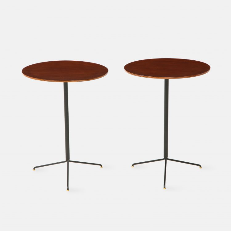 Pair of Side Tables Model T44 by Osvaldo Borsani for Tecno | soyun k.