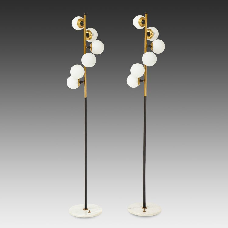 Pair of Floor Lamps by Stilnovo | soyun k.