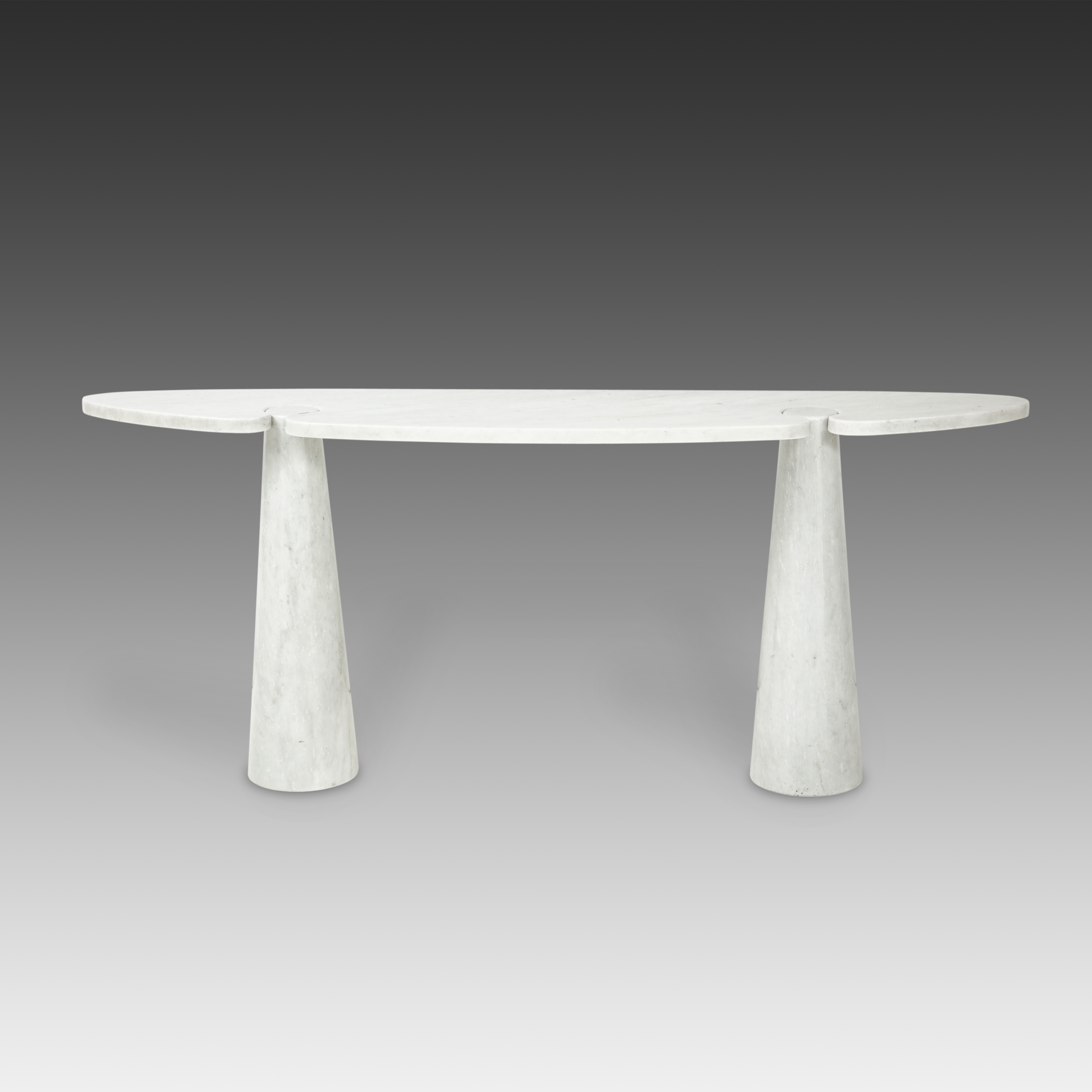 Carrara Marble Console from 'Eros' Series by Angelo Mangiarotti for Skipper | soyun k.