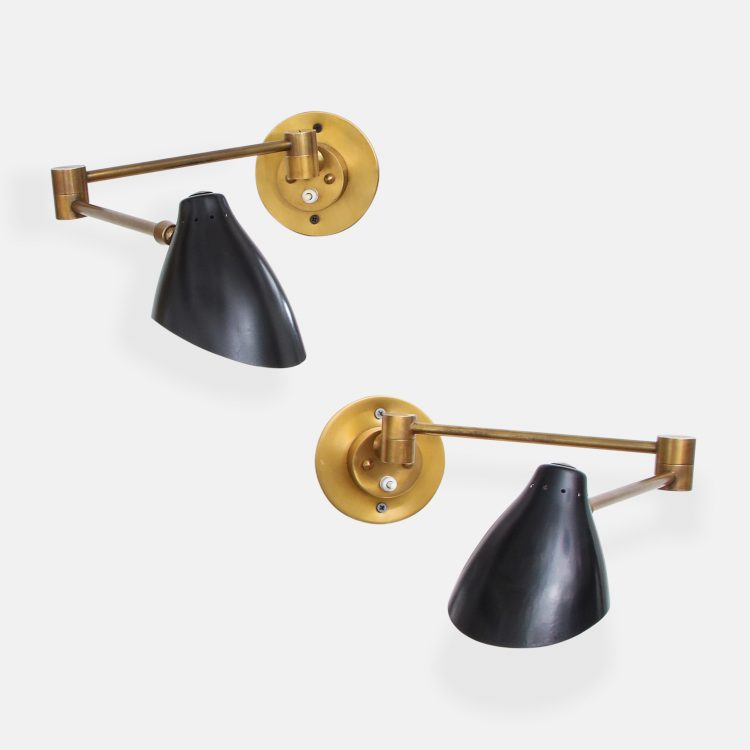 Pair of Sconces by Angelo Lelii for Arredoluce | soyun k.