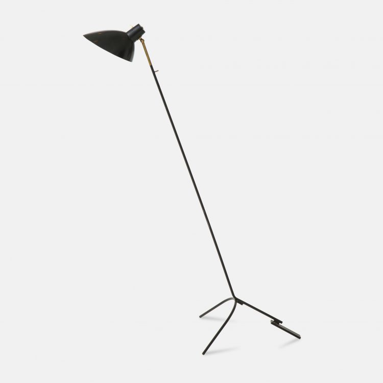 Rare Floor Lamp Model 1047 by Vittoriano Viganò for Arteluce | soyun k.