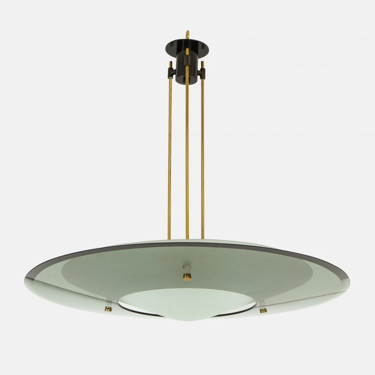 Chandelier Model 2097 by Max Ingrand for Fontana Arte | soyun k.