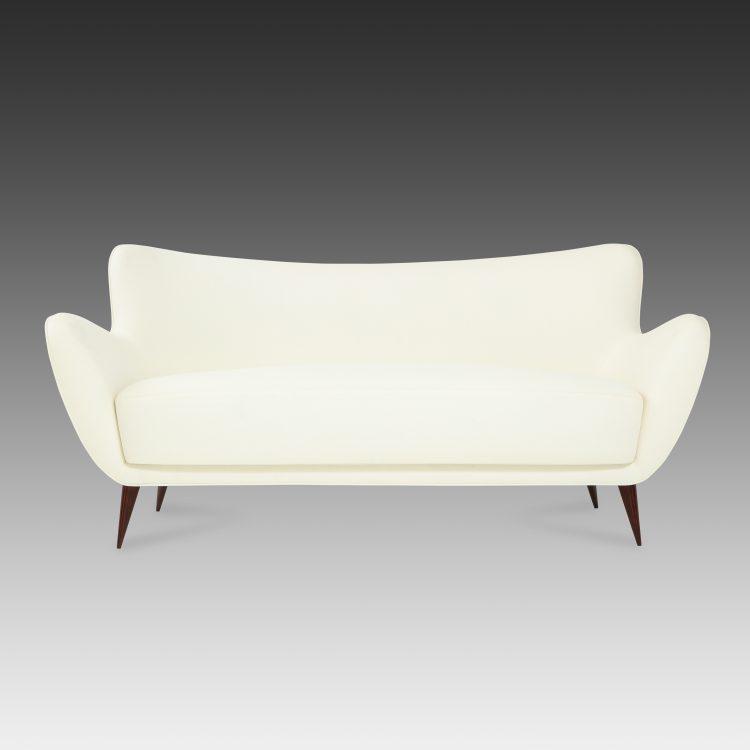 'Perla' Sofa by Guglielmo Veronesi for I.S.A.   soyun k.