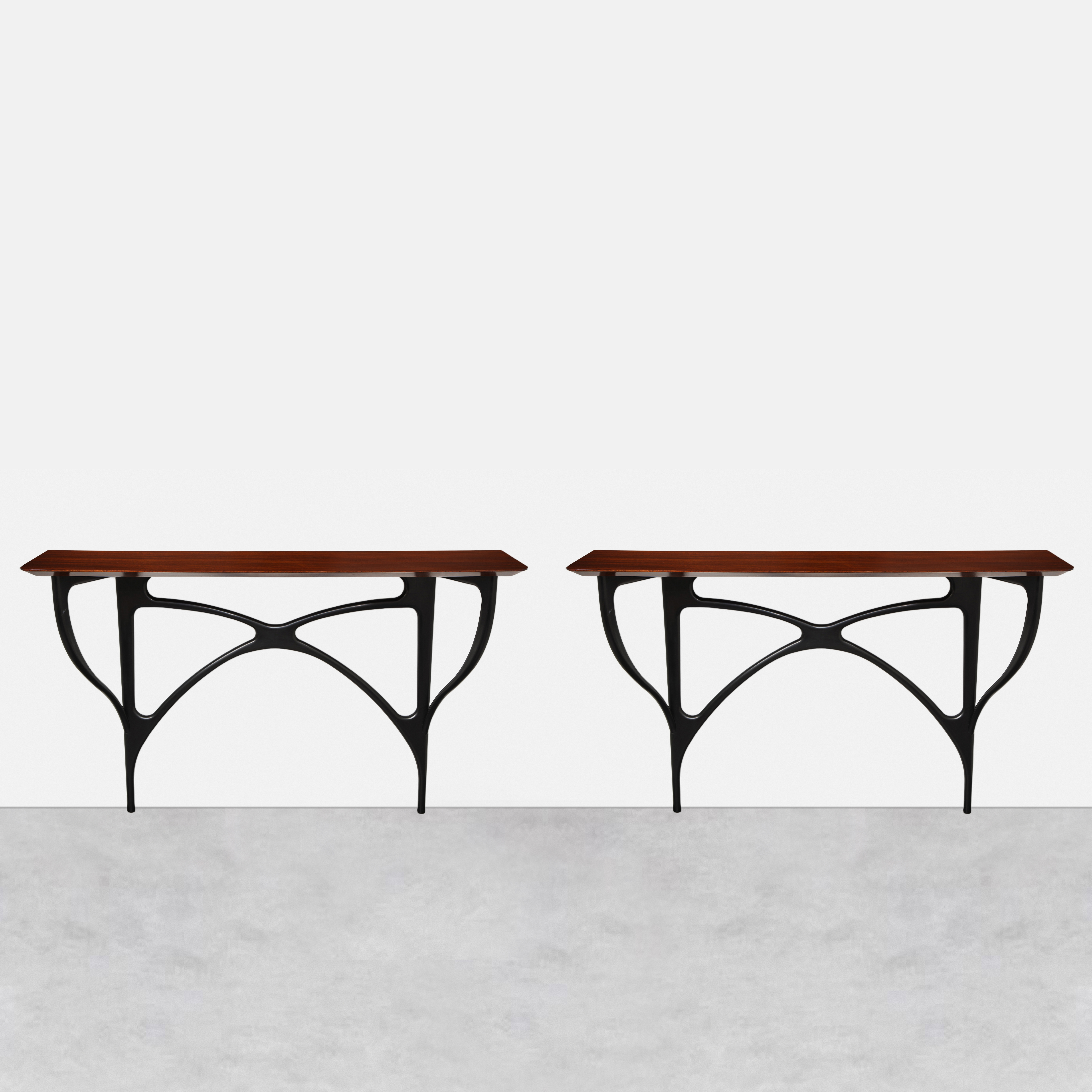 Pair of Consoles by Ico Parisi for ArteCasa   soyun k.