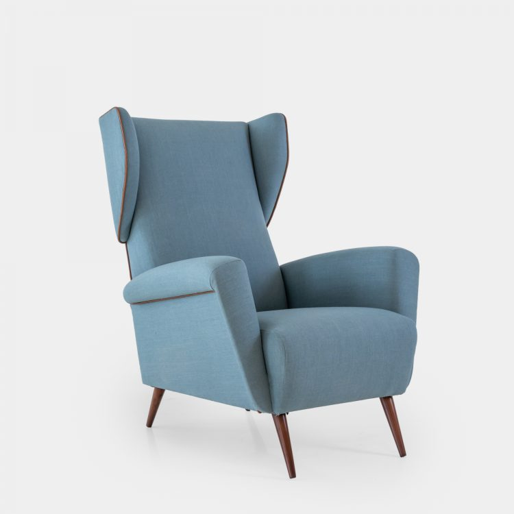 Lounge or Wingback Chair by Gio Ponti for Cassina | soyun k.