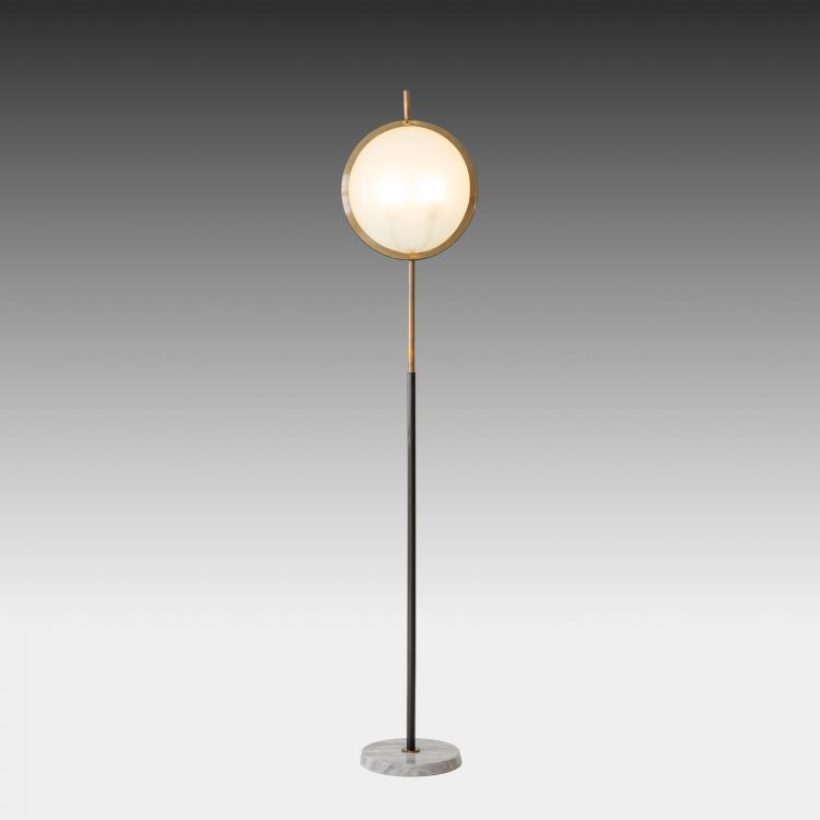 Rare Floor Lamp by Stilnovo | soyun k.
