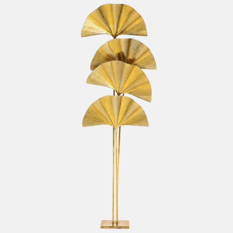 Ginkgo Leaf Floor Lamp by Carlo Giorgi for Bottega Gadda | soyun k.