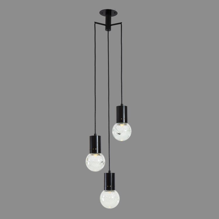 Three-Light Pendant by Gino Sarfatti for Arteluce | soyun k.