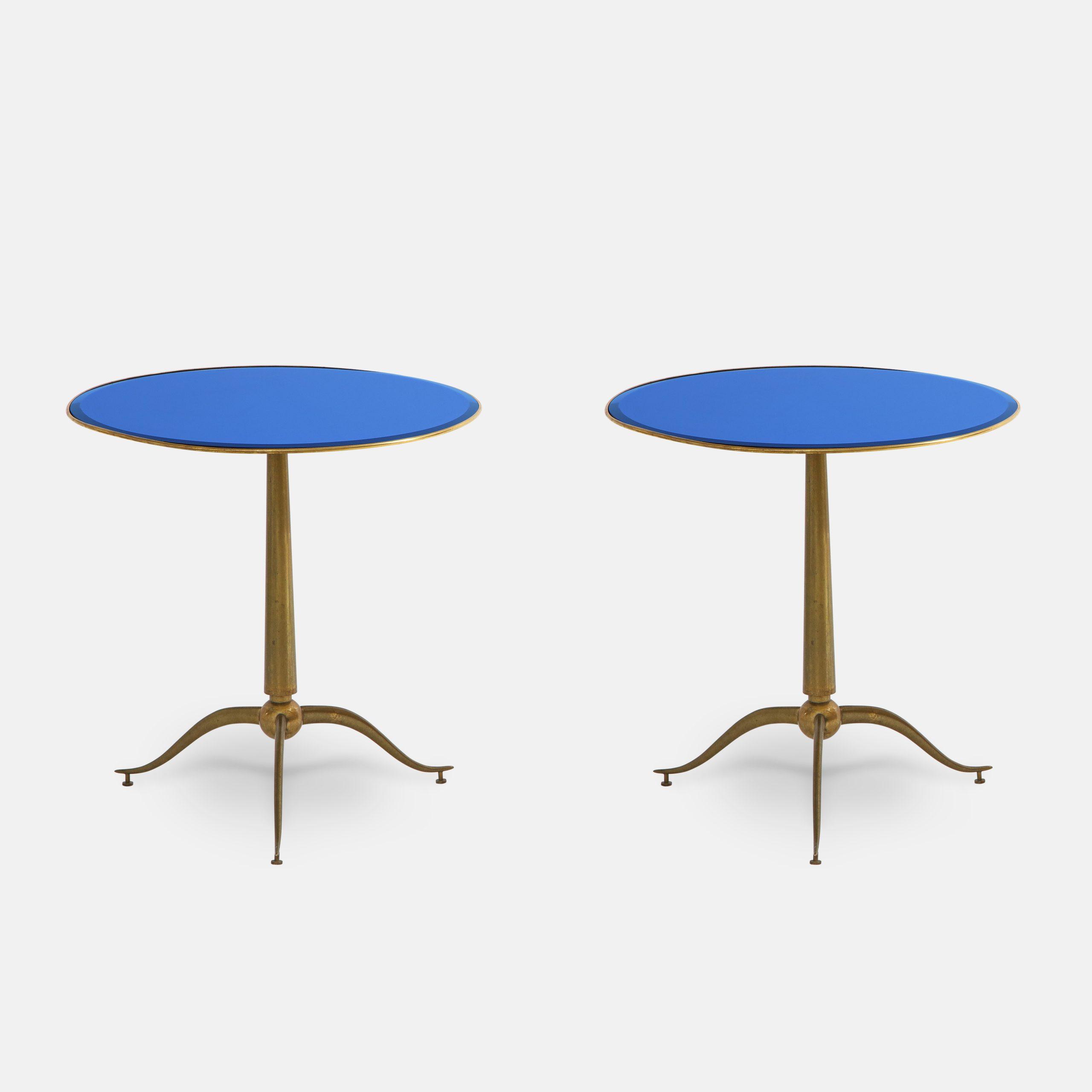 Rare Pair of Side Tables by Osvaldo Borsani for Arredamenti Borsani | soyun k.