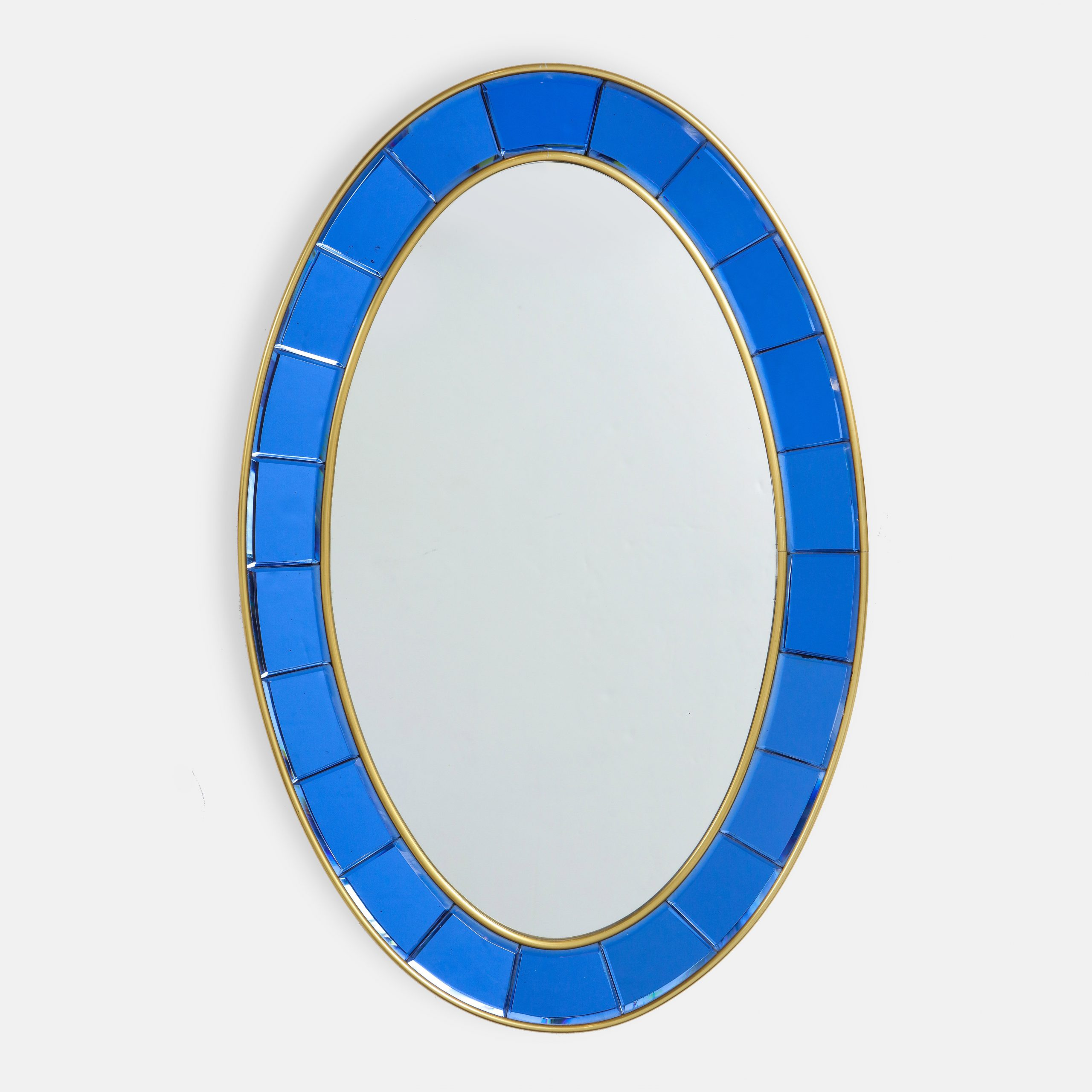 Hand-Cut Faceted Crystal Mirror by Cristal Art | soyun k.
