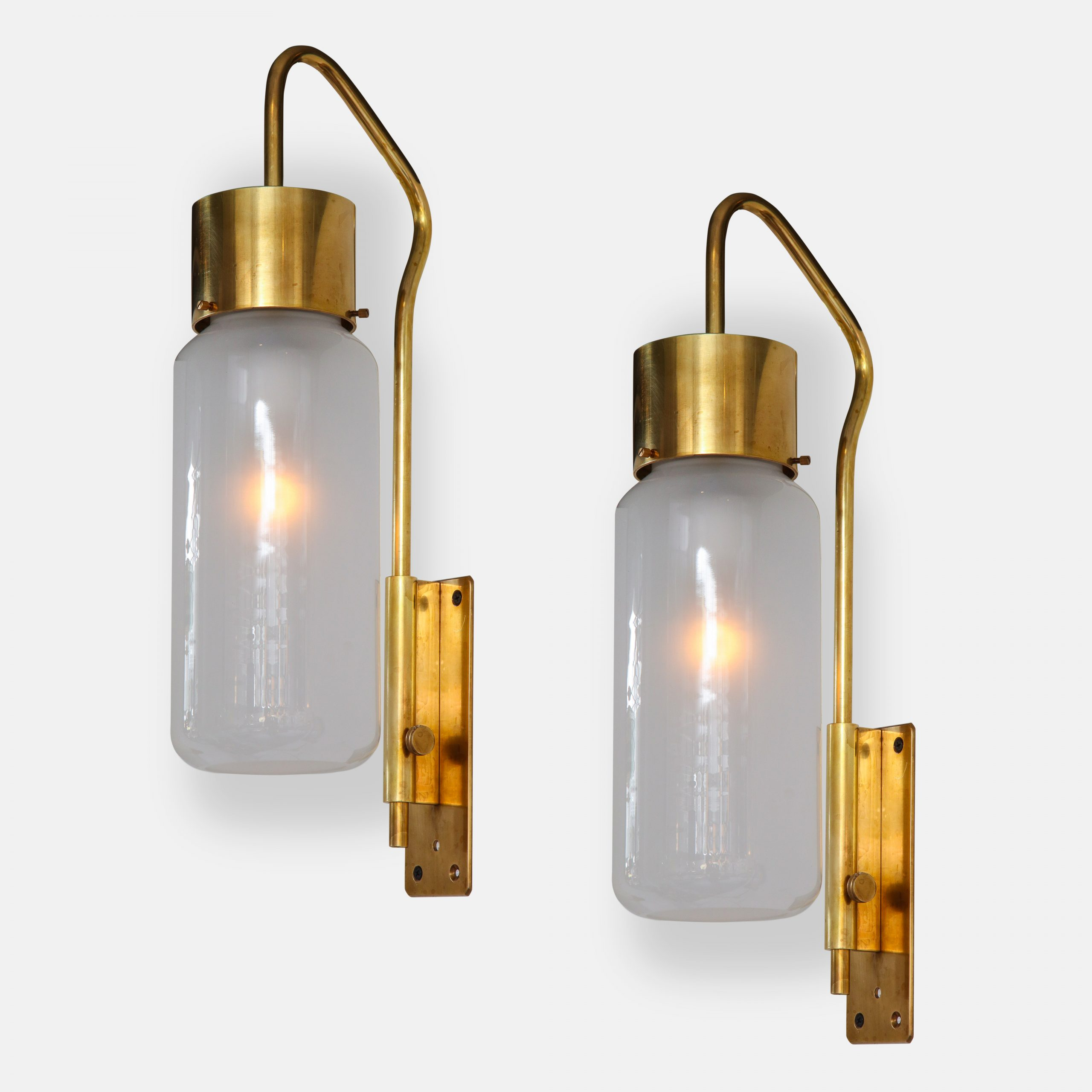 Pair of Wall Lights Model LP10 Bidone by Luigi Caccia Dominioni for Azucena | soyun k.