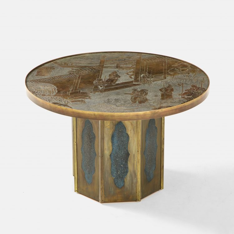 """""""Chan"""" Occasional or Side Table by Philip & Kelvin LaVerne 