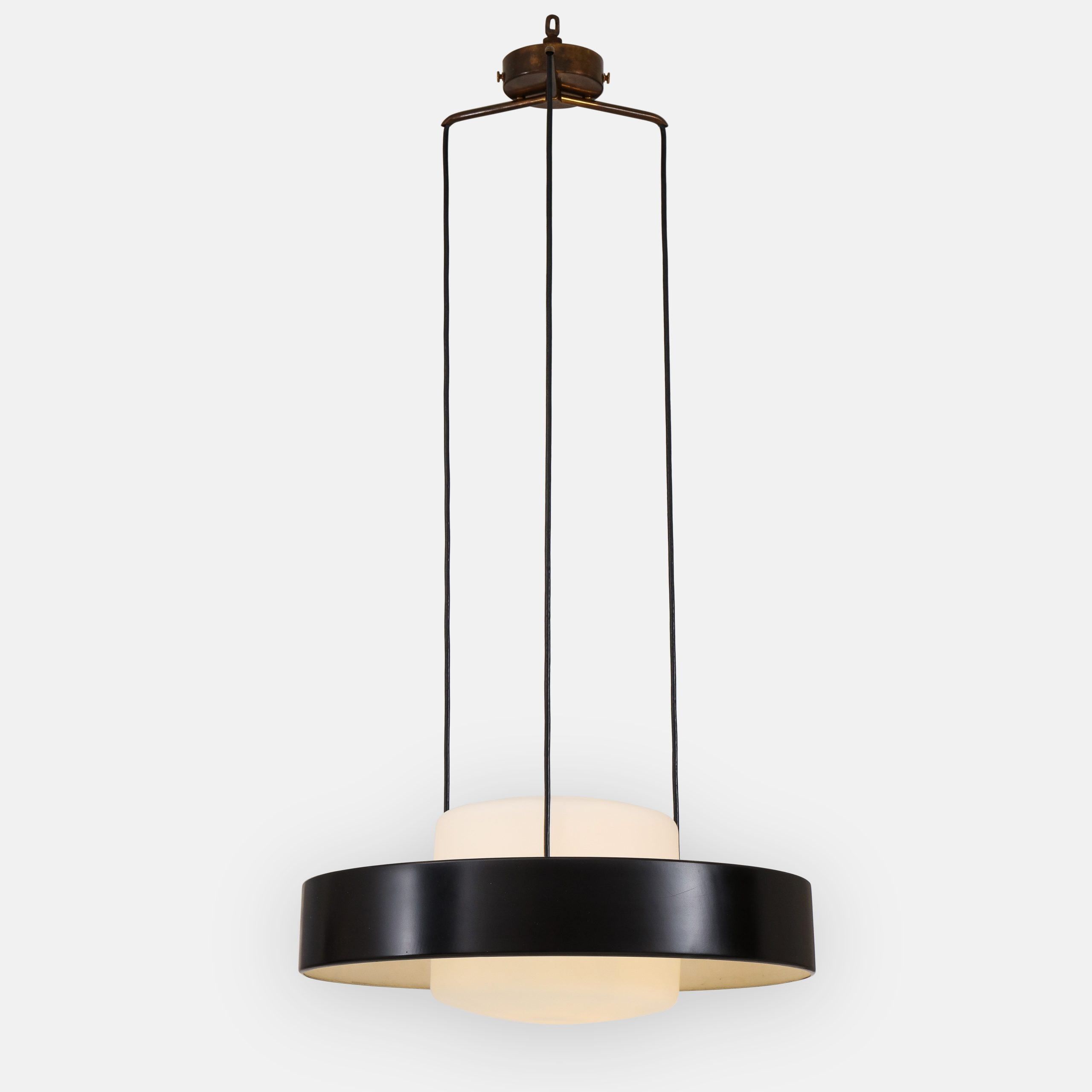 Rare Ceiling Light Model 1158 by Stilnovo | soyun k.