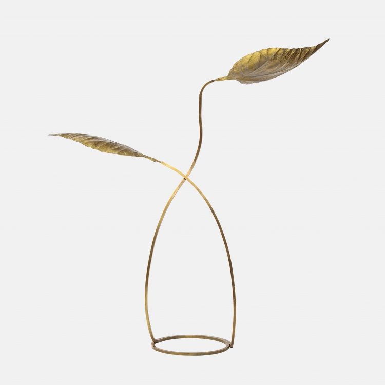 'Rabarbaro' Two-Leaf Floor Lamp by Carlo Giorgi for Bottega Gadda | soyun k.